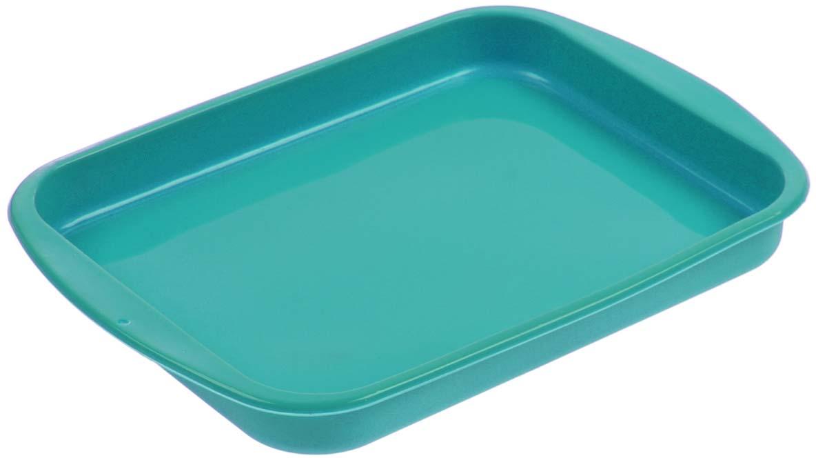Форма для выпечки Доляна Пирог,цвет: изумрудный, 27 х 18 х 2,5 см1000347_изумрудныйФорма Доляна Пирог выполнена из силикона, благодаря этому выпечку вынимать легко и просто. Материал устойчив к фруктовым кислотам, может быть использован в духовках и микроволновых печах. Перед первым применением промойте предмет тёплой водой.В процессе приготовления используйте кухонный инструмент из дерева, пластика или силикона.Перед извлечением блюда из силиконовой формы дайте ему немного остыть, осторожно отогните края предмета.Готовьте с удовольствием!