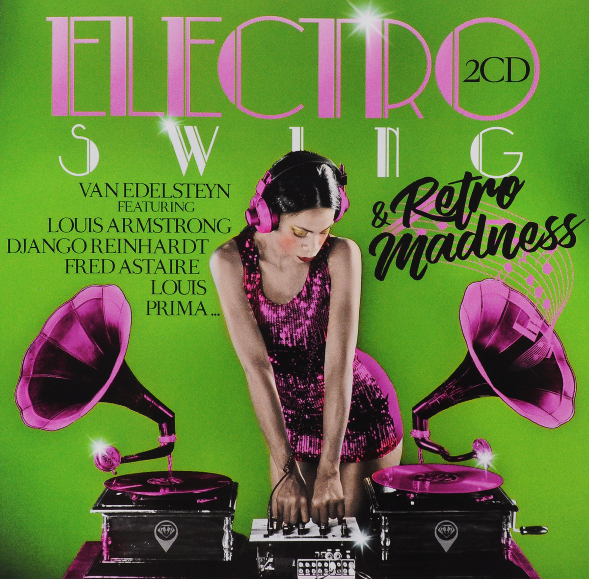Electro Swing & Retro Madness. Van Edelsteyn (2 CD)