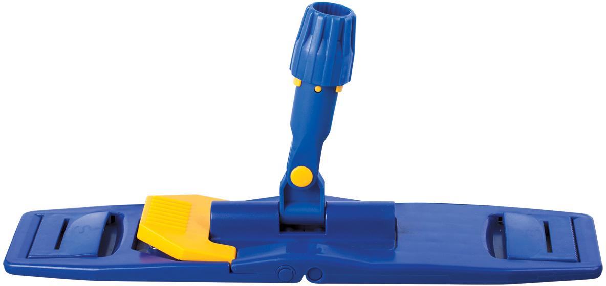 Держатель для швабры Лайма, складной, цвет: синий, 40 см601463Держатель для швабры Лайма предназначен для проведения влажной уборки помещения. Используется в комплекте с ручкой и насадкой с карманами и ушками. Подходит для использования в устройствах отжима. Ручка и насадки в комплект не входят, приобретаются отдельно.