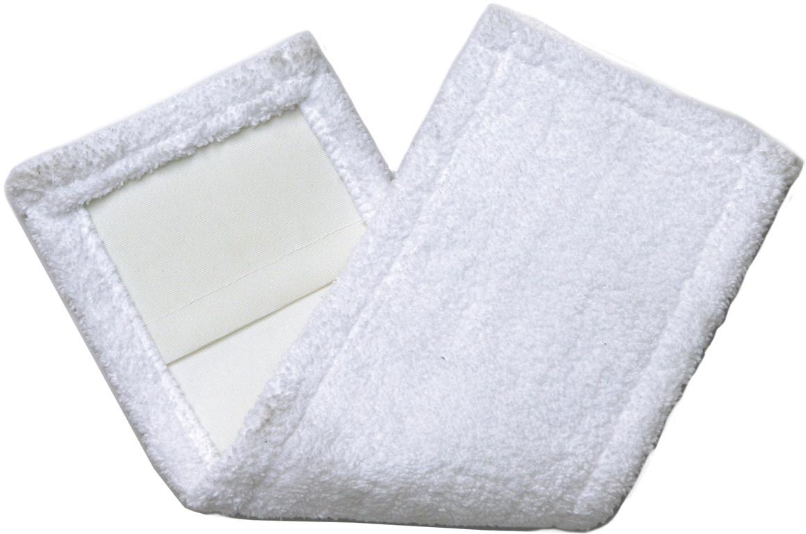 Насадка для швабры Лайма Моп, с карманами, цвет: белый, 40 х 10 см. 601476601476Насадка для швабры из микрофибры Лайма предназначена для проведения влажной и сухой уборки помещения. Используется в комплекте со шваброй, крепится к держателю с помощью карманов. Обладает отличными моющими и впитывающими свойствами.