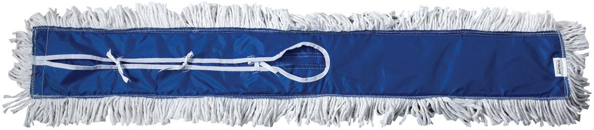 Держатель-рамка для швабры Лайма Проф, с насадкой МОП, цвет: синий, 90 см601504Металлический держатель-рамка с хлопковой насадкой Лайма предназначен дляпроведения влажной и сухой уборки помещений большой площади. Используется вкомплекте с ручкой. Насадка крепится на держателе с помощью завязок.В комплекте одна насадка. Ручка не входит в комплект, приобретается отдельно.