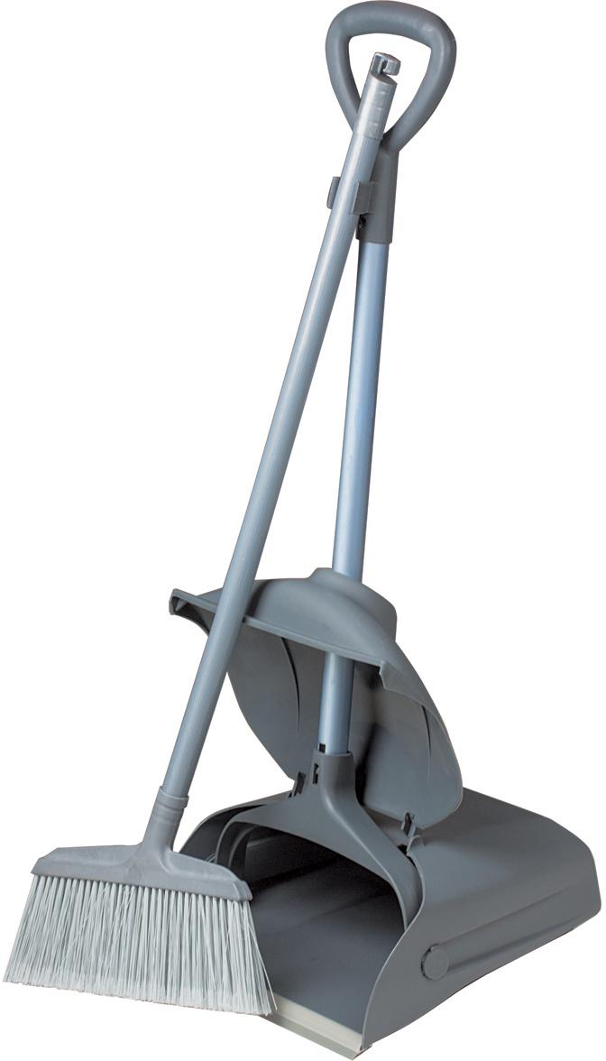 Набор для уборки Лайма  Проф , цвет: серый, 2 предмета