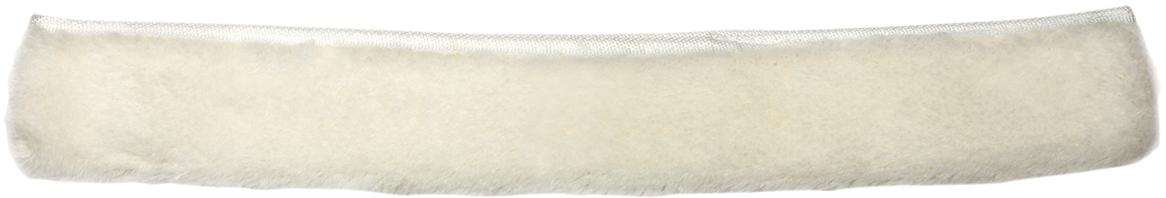 Насадка-шубка для стекломойки Лайма Проф, цвет: белый, 45 см601519Насадка-шубка для стекломойки Лайма предназначена для мытья и полировки стеклянных поверхностей. Используется в комплекте со стекломойкой. Изготовлена из акрила и дакрона, крепится к держателю при помощи липучек. Для швабры-рамки Лайма Проф.