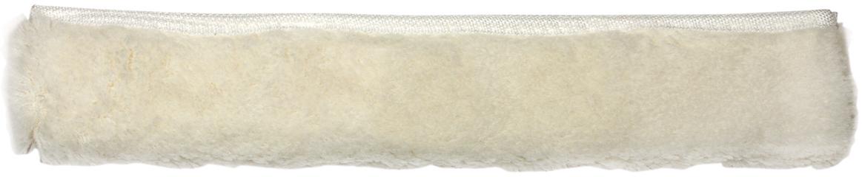Насадка-шубка для стекломойки Лайма Проф, цвет: белый, 35 см601520Насадка-шубка для стекломойки Лайма предназначена для мытья и полировки стеклянных поверхностей. Используется в комплекте со стекломойкой. Изготовлена из акрила и дакрона, крепится к держателю при помощи липучек. Для швабры-рамки Лайма Проф.