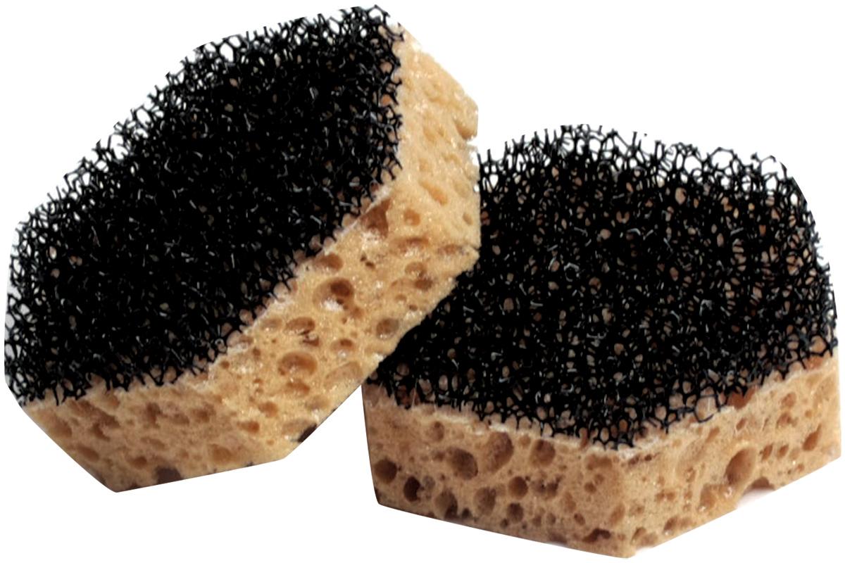 Набор губок Лайма, цвет: желтый, 2,9 х 9,2 х 8 см, 2 штК1014Губки из ретикулированного поролона Лайма предназначены для мытья посуды и проведения влажной уборки. Крупнопористый поролон дает обильную пену, а деликатный чистящий слой обеспечивает бережную чистку.