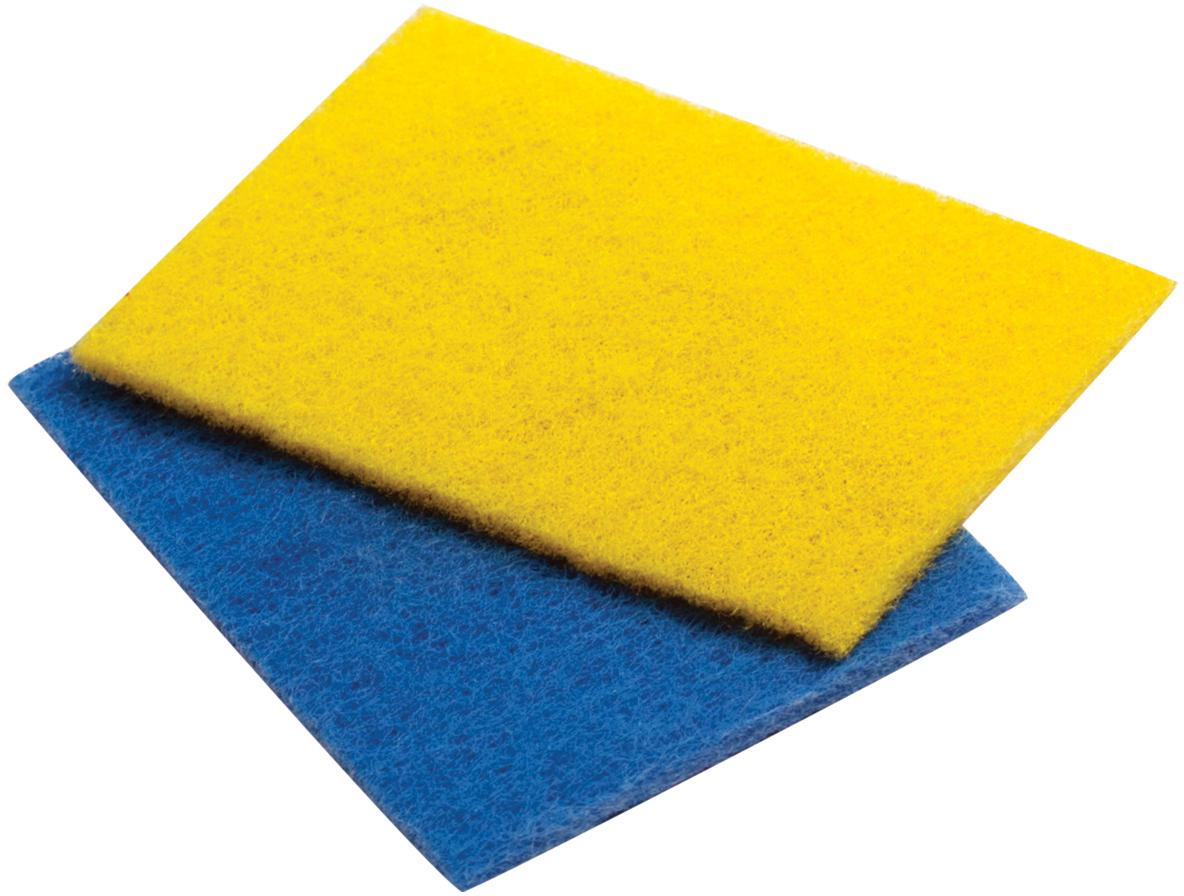 Набор абразивных салфеток Лайма, для удаления стойких загрязнений, 13,3 х 9 см, 3 шт