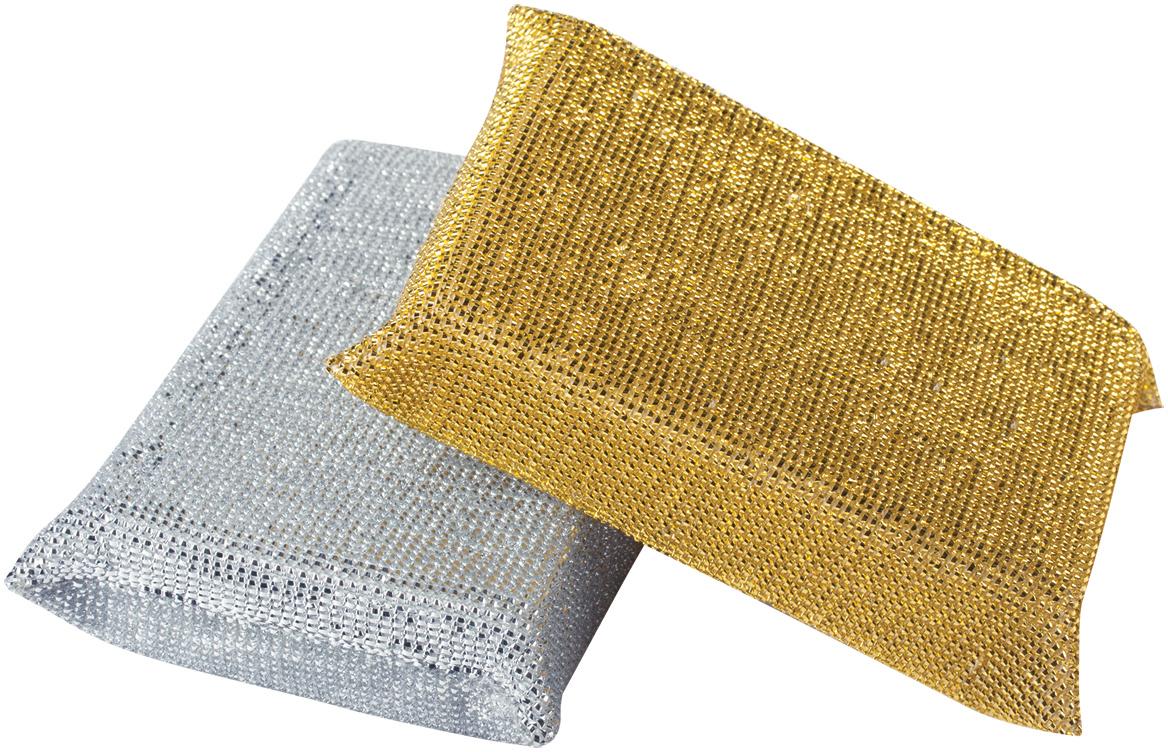 Набор губок Лайма, в оплетке, 2,8 х 11,5 х 7,8 см, 2 штК1011Губки Лайма в оплетке металлизированной нитью идеально подходят для удаления стойких загрязнений. Предназначены для мытья посуды и чистки различных поверхностей.