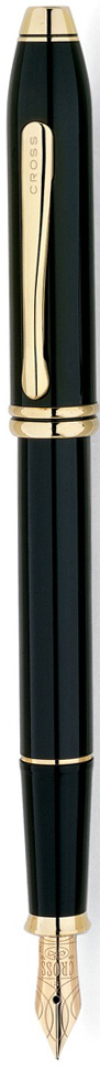 Cross Ручка перьевая Townsend цвет корпуса черный576-FDАмериканская компания CROSS – один из старейших брендов среди производителей пишущих инструментов и деловых аксессуаров. Компания была основана в 1846 году ювелиром Ричардом Кроссом и изначально специализировалась на производстве роскошных ротом и серебром. На протяжении долгих лет пишущие инструек из драгоценных металлов и ювелирных корпусов для карандашей, тисненных золотом и серебром. На протяжении долгих лет пишущие инструменты CROSS остаются классическим выбором для подарка.Ручка CROSS — это оригинальный персонгальный подарок и неотъемлемый элемент вашего стиля.Это голос доверия,который создает долгосрочные отношения между людьми и обогащет смыслом драгоценные моменты.Каждая ручка CROSS имеет пожизненную механическую гарантию. Перьевая ручка Cross Townsend, Black Lacquer (Перо F) / АРТИКУЛ: 576-FDПеро: золото 18K. Корпус: многослойное лаковое покрытие. Отделка: позолота 23 карата. Особенности: чернильный баллончик, конвертор. Цвет: черный лак. Механизм:съемный колпачок Цвет корпуса:Черный Отделка элементов:золотой цвет Толщина корпуса:стандартная Перо:золото 18k Страна:США Толщина пишущего узла:f (тонкое) Названная в честь основателя компании Алонзо Таунсенда Кросса, коллекция Cross Townsend - настоящий шедевр. В ней гармонично сочетаются ювелирное мастерство и самые передовые технологии. Это драгоценность в ваших руках. Отличительная черта коллекции - широкий диаметр корпуса пишущих инструментов и опоясывающие его двойные кольца.
