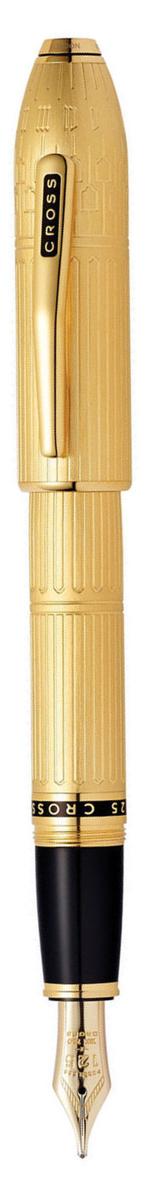 Cross Ручка перьевая Townsend цвет корпуса золотистый706-FDАмериканская компания CROSS – один из старейших брендов среди производителей пишущих инструментов и деловых аксессуаров. Компания была основана в 1846 году ювелиром Ричардом Кроссом и изначально специализировалась на производстве роскошных ручек из драгоценных металлов и ювелирных корпусов для карандашей, тисненных золотом и серебром. На протяжении долгих лет пишущие инструменты CROSS остаются классическим выбором для подарка.Ручка CROSS — это оригинальный персонгальный подарок и неотъемлемый элемент вашего стиля.Это голос доверия,который создает долгосрочные отношения между людьми и обогащет смыслом драгоценные моменты.Каждая ручка CROSS имеет пожизненную механическую гарантию.Перьевая ручка Cross Townsend, 10Ct Rolled Gold (Перо F) / АРТИКУЛ: 706-FDПеро: золото 18 карат. Корпус: позолота 10 карат. Отделка: позолота 23 карата. Особенности: чернильный баллончик, конвертор. Цвет: золотистый. Механизм:съемный колпачок Цвет корпуса:золотой, желтый Отделка элементов:> золотой цвет Толщина корпуса: стандартная Перо: золото 18k Страна: США Толщина пишущего узла: f (тонкое) Названная в честь основателя компании Алонзо Таунсенда Кросса, коллекция Cross Townsend - настоящий шедевр. В ней гармонично сочетаются ювелирное мастерство и самые передовые технологии. Это драгоценность в ваших руках. Отличительная черта коллекции - широкий диаметр корпуса пишущих инструментов и опоясывающие его двойные кольца.