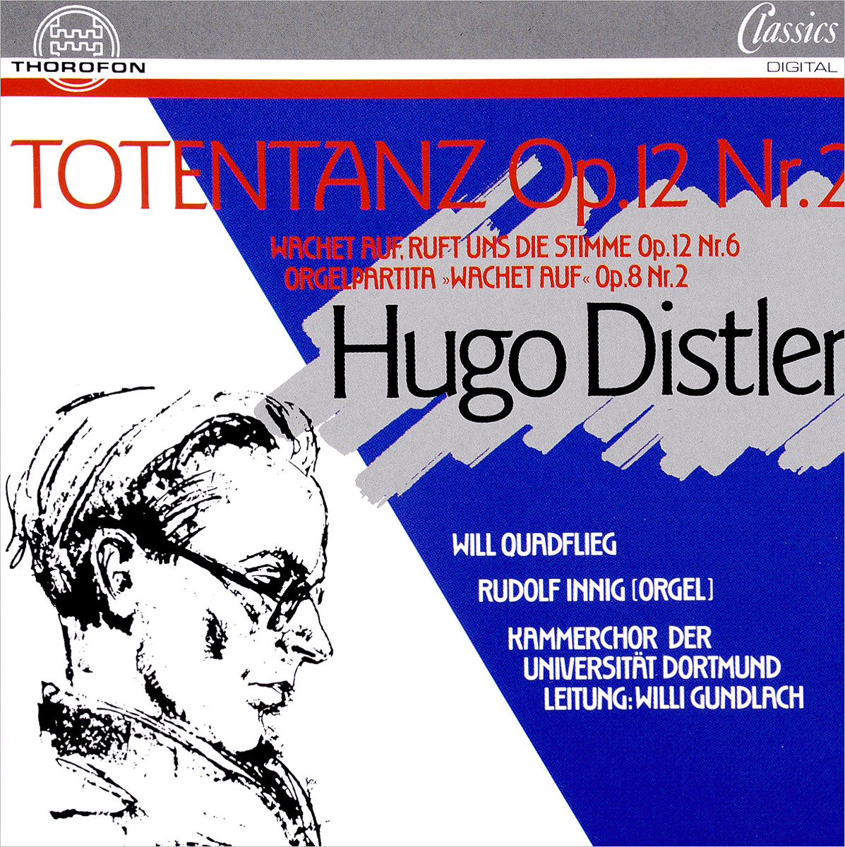 Hugo Distler. Totentanz Op.12 No.2