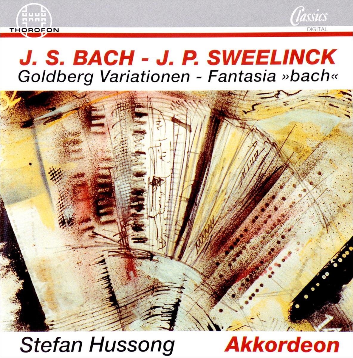 Stefan Hussong, Johann Sebastian Bach. Goldberg Variations цена