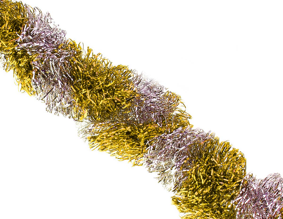Мишура новогодняя Sima-land, цвет: золотистый, диаметр 7 см, длина 200 см. 452426452426Новогодняя мишура Sima-land, выполненная из ПВХ, поможет вам украсить свой дом к предстоящим праздникам. Новогодняя елка с таким украшением станет еще наряднее. Новогодней мишурой можно украсить все, что угодно - елку, квартиру, дачу, офис - как внутри, так и снаружи. Можно сложить новогодние поздравления, буквы и цифры, мишурой можно украсить и дополнить гирлянды, можно выделить дверные колонны, оплести дверные проемы.