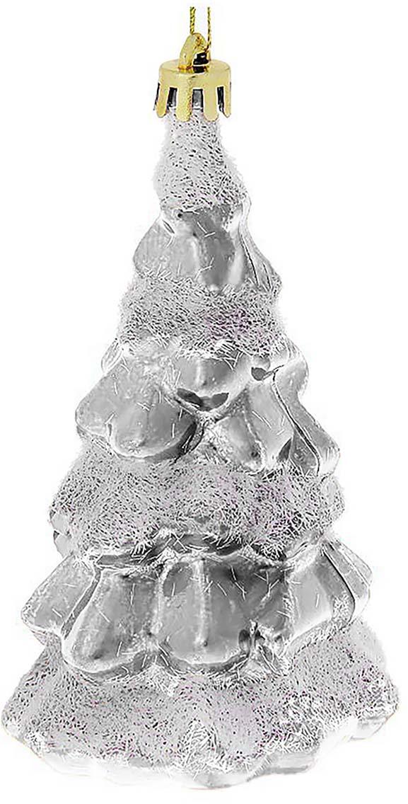 Украшение новогоднее елочное Sima-land Елка со снегом, цвет: серебряный, белый, 10 см, 4 шт1116472-серебрянный, белыйНовогоднее подвесное украшение Sima-land Елка со снегом. Елочная игрушка - символ приближающегося праздника. Она послужит прекрасным подарком как для ребенка, так и для взрослого, а также дополнит новогодний интерьер.