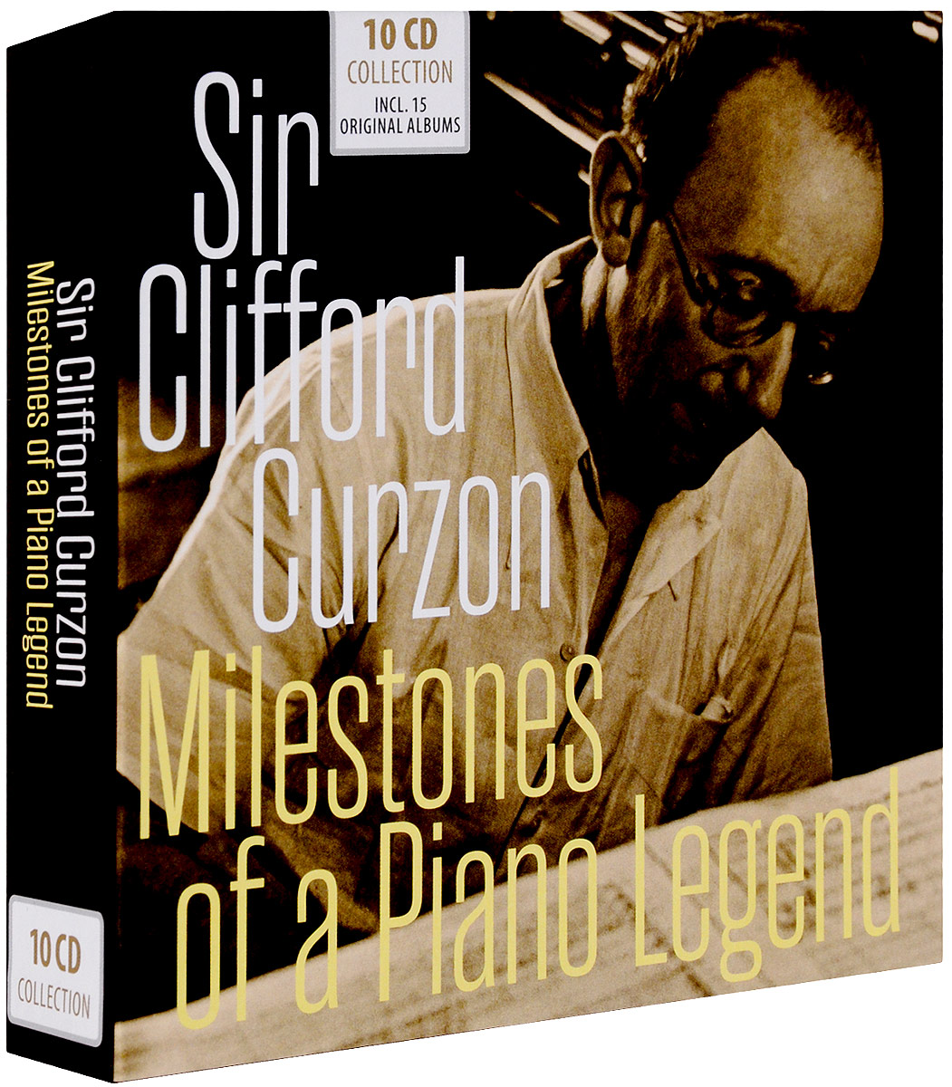 Sir Clifford Curzon. Milestones Of A Piano Legend (10 CD) cd диск perahia murray mozart w a the piano concertos 12 cd