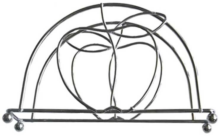 """Салфетница - это обязательный предмет сервировки, а подобранная со вкусом и изяществом -  это еще и декоративный элемент, отвечающий за эстетическую наполненность каждой трапезы.   Салфетница Мультидом """"Яблоко-2"""" своим неприхотливым, но чарующим дизайном украсит  любую кухню!"""