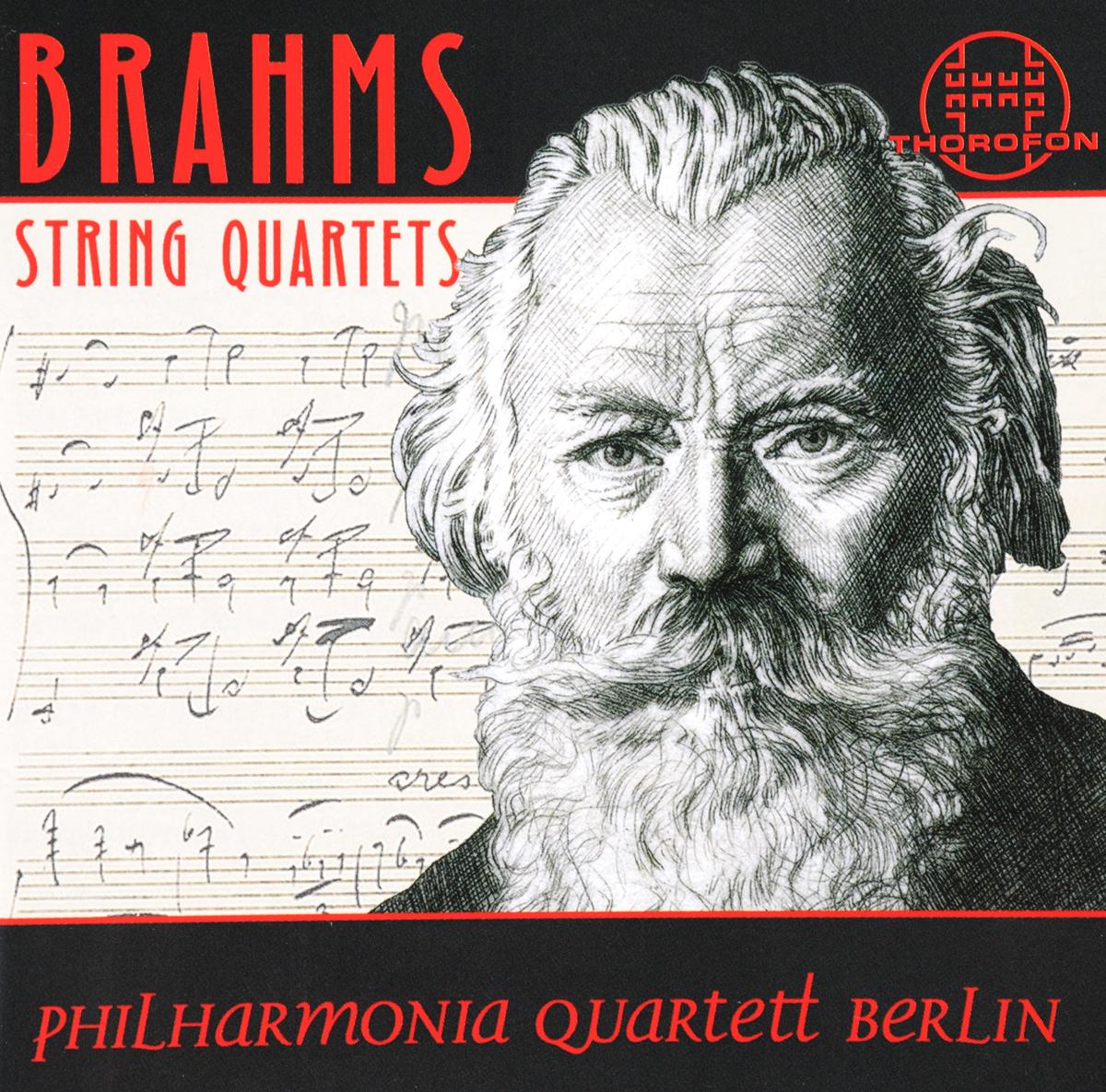 Johannes Brahms: Die String Quartets (2 CD) die entscheidung cd
