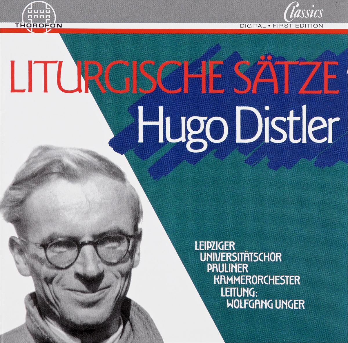 Hugo Distler. Liturgische Satze