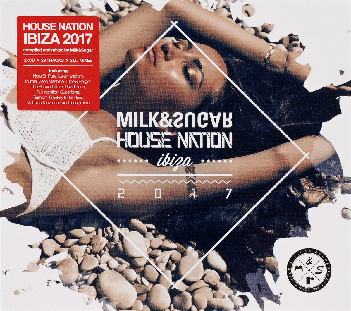 House Nation Ibiza 2017 (Mixed by Milk & Sugar) (2 CD) horny house club mixed by chris balboa