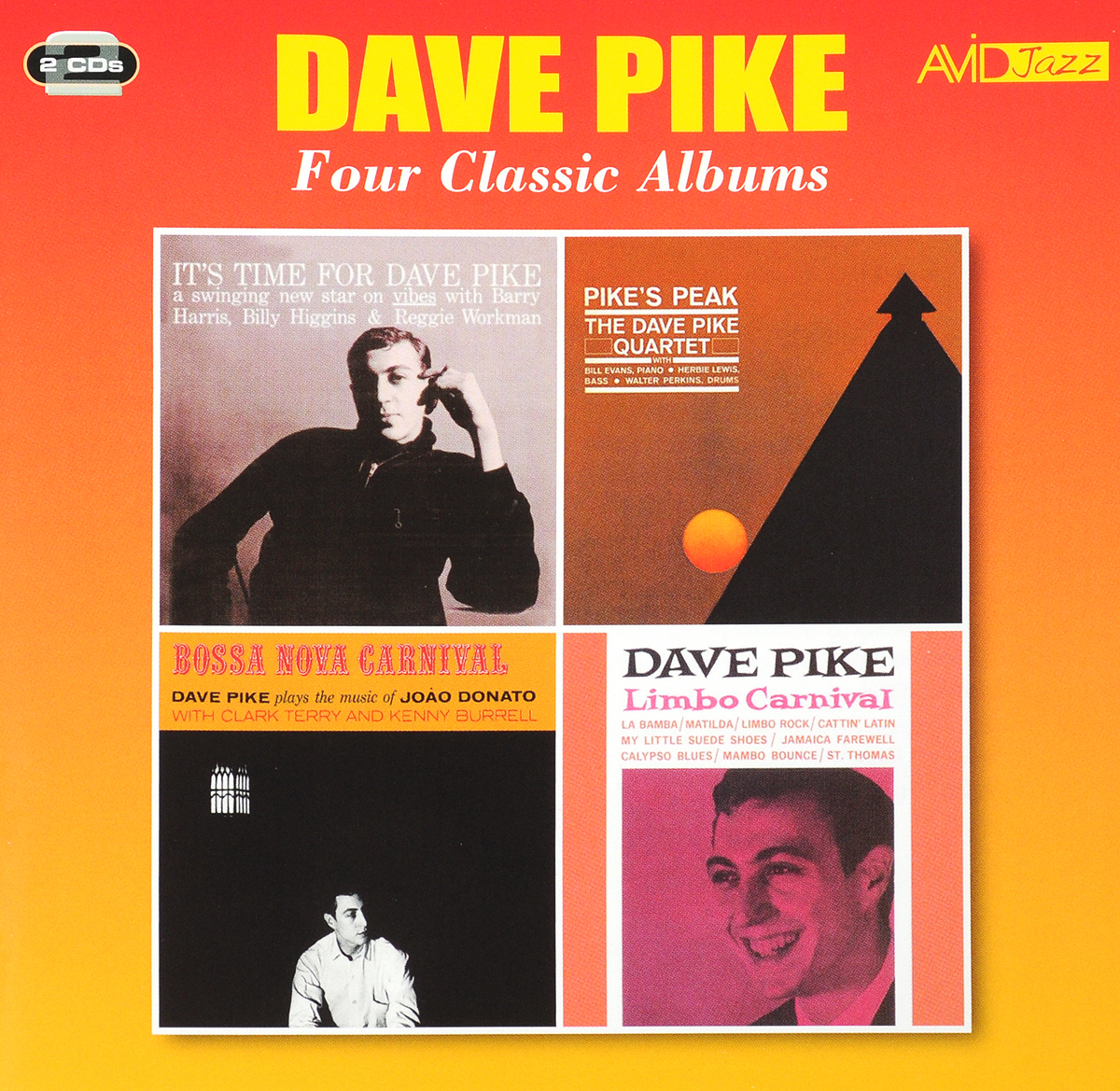 Дэйв Пайк Dave Pike. Four Classic Albums (2 CD) каунт бэйси count basie four classic albums plus 2 cd