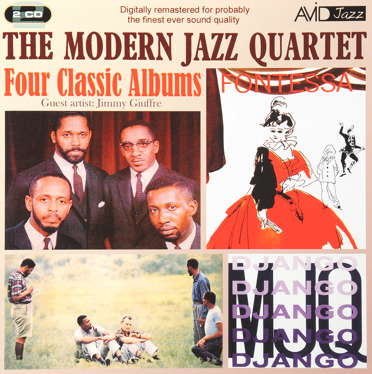 The Modern Jazz Quartet The Modern Jazz Quartet. Four Classic Albums (2 CD) сумка kalencom buckle bag jazz cobalt