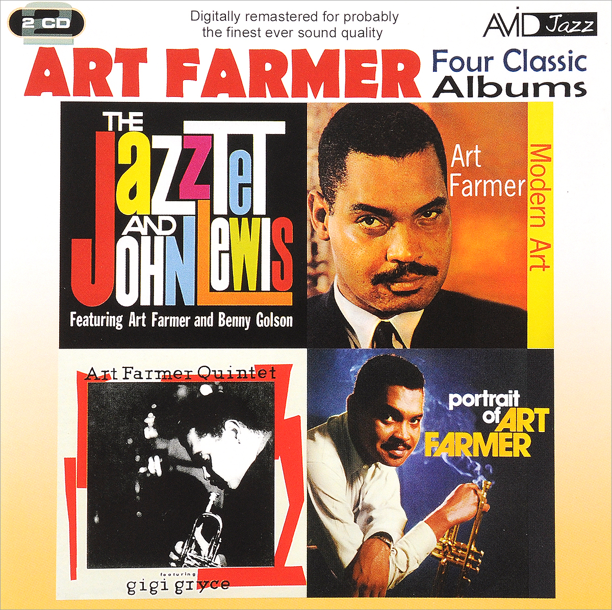Zakazat.ru Art Farmer. Four Classic Albums (2 CD)