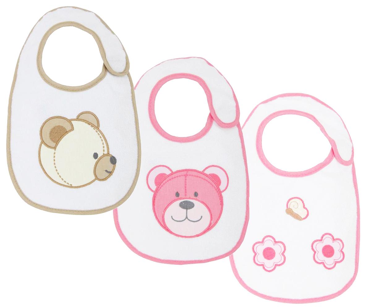 Polini Набор нагрудников для кормления Плюшевые мишки 3 шт стульчики для кормления polini 460