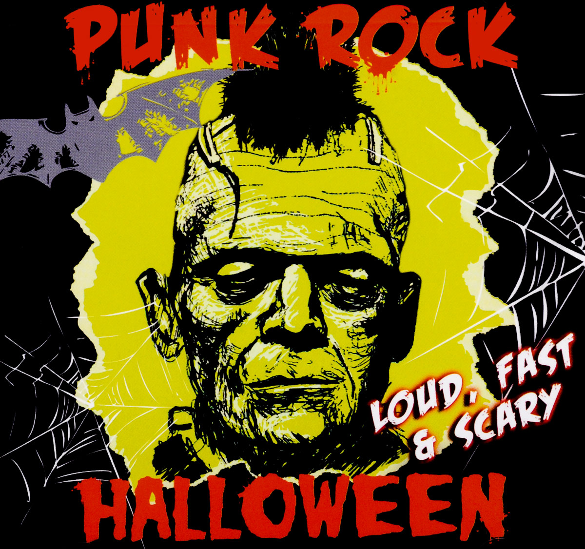 Punk Rock Halloween - Loud, Fast & Scary cleopatra