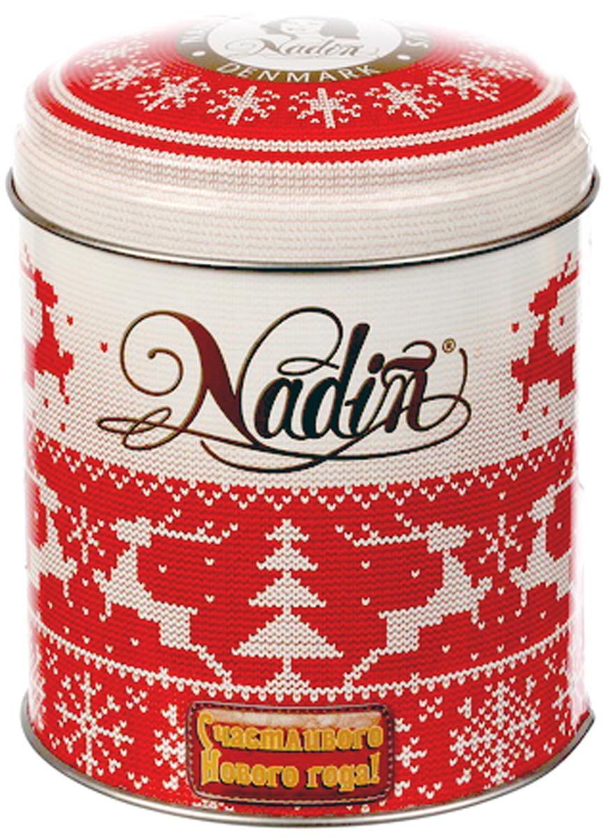 Nadin Счастливого Нового года! чай черный листовой, 75 г greenfield чай greenfield классик брекфаст листовой черный 100г