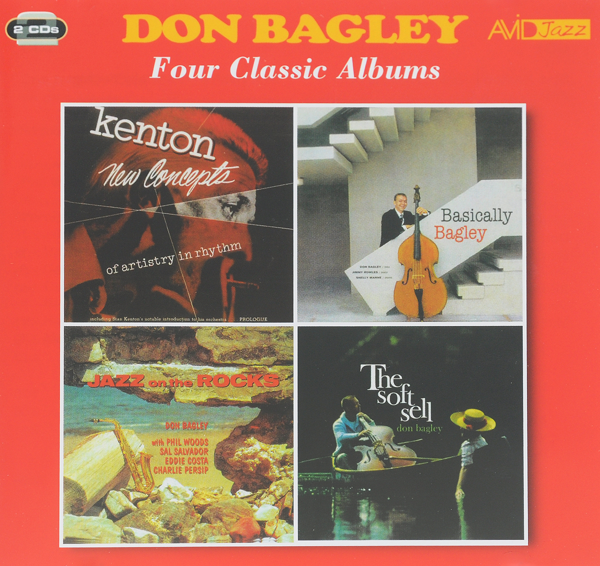 Дон Бэдли Don Bagley. Four Classic Albums (2 CD) уинтон келли avid jazz wynton kelly four classic albums 2 cd