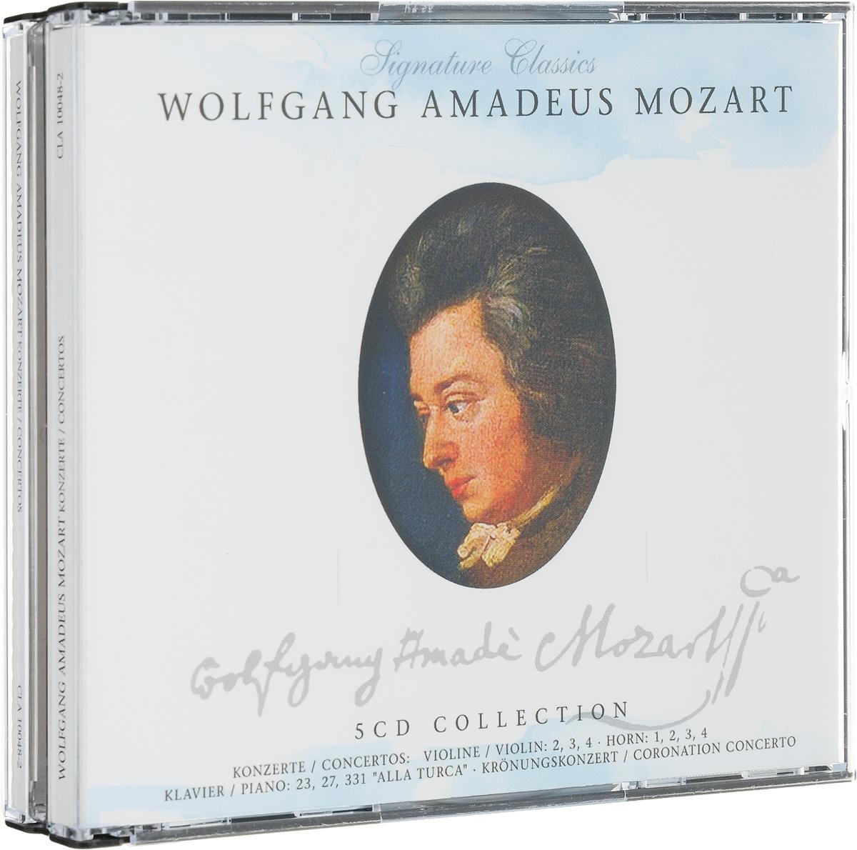 Mozart. Concertos (5 CD) цена