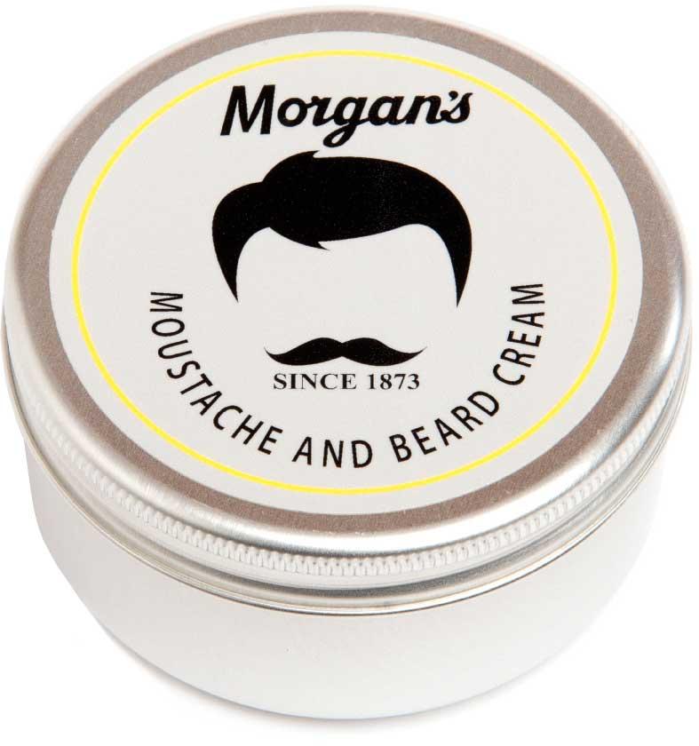 Morgan's Крем для бороды и усов, 75 мл. M038 dear beard щетка из древесины венге для усов и бороды 8 4 см