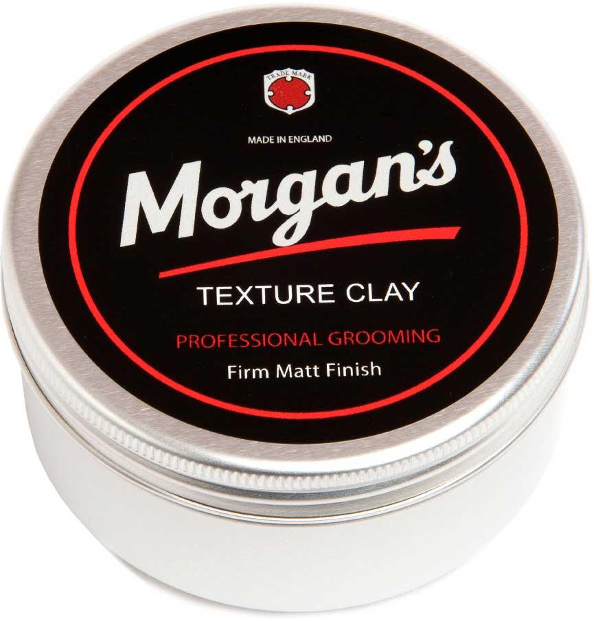 Morgans Матовая глина для укладки волос, 100 мл. M020M020Универсальный продукт отлично подходит для густых и непослушных волос, чтобы добавить текстуру или для задания нужной формы. Волокна продукта обладают сильной фиксацией и качественной текстурой. Матовый оттенок гарантирован. Содержит натуральный пчелиный воск. Фиксация - высокая; Время - до 10 часов; Блеск - отсутствует (матовый); Тип волос - прямые, жесткие или непослушные волосы; Длина волос - короткие, средние.