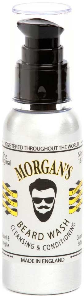 Morgans Шампунь для бороды, 100 мл. M037M037Бодрящий и очищающий шампунь для бороды сделает ее мягкой и послушной. Легко очистит и разгладит даже самые грубые волосы. Фирменный аромат от MORGANS - бергамот, жасмин, сандал и пачули. Компактная алюминиевая бутылка с экономичным дозатором.