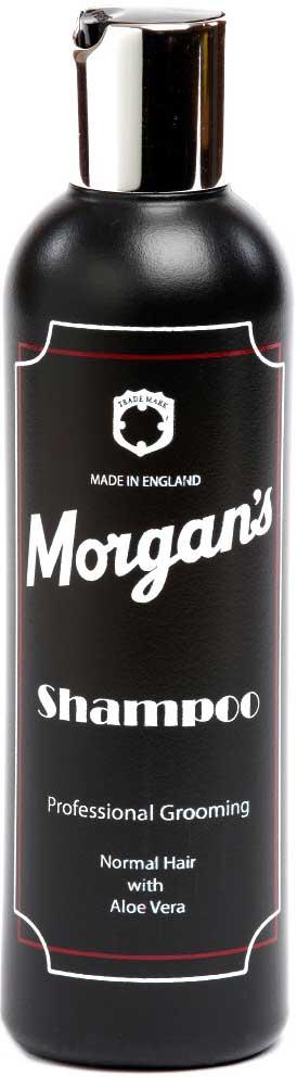 Morgans Мужской шампунь для ежедневного использования, 250 мл. M044M044Этот профессиональный шампунь разработан специально для нормальных волос. Он содержит экстрат алоэ и кератин. Придаст вашим волосам блеск, жизненную силу, послужит прекрасным увлажняющим средством. Фирменный аромат от MORGANS - бергамот, жасмин, сандал и пачули.