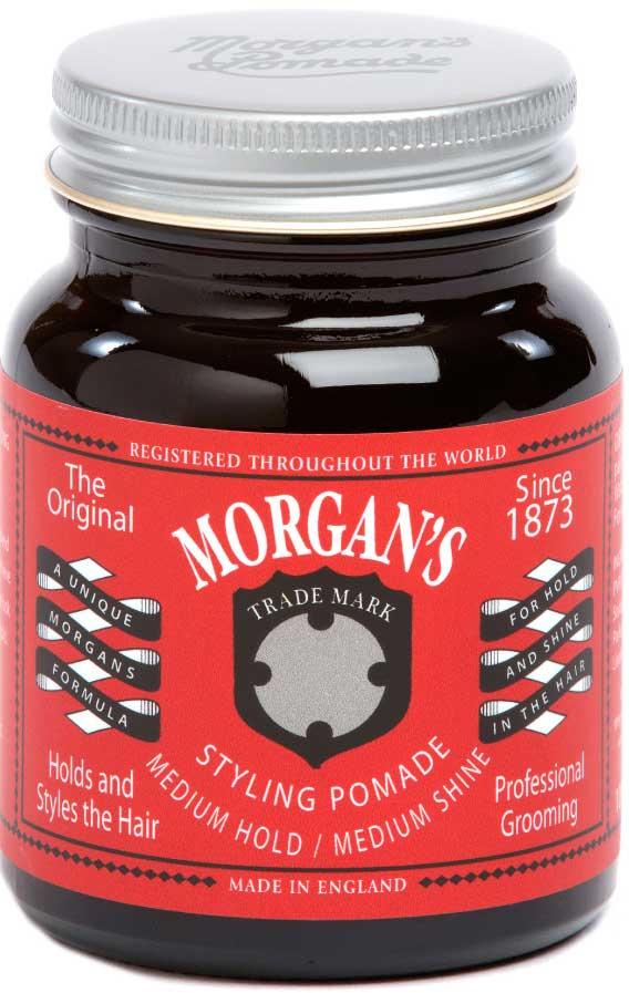 Morgans Помада для укладки волос Средняя фиксация/Средний блеск, 50 г. M008AM008AПомада обладает средним уровнем блеска и продолжительным временем фиксации. Водорастворимая и легко смывается. Анти-статический эффект. Питает и увлажняет волосы. Фирменный аромат от Morgan`s - бергамот, жасмин, сандал и пачули. Оригинальный винтажный стиль баночки.