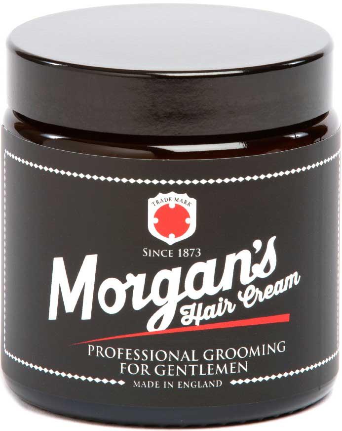 Morgans Крем для укладки волос, 120 мл. M014M014Профессиональный уход для тонких волос и более взрослых мужчин. Легкая формула естественным образом питает волосы и придает натуральную фиксацию. Продукт легко смывается.Фирменный аромат от MORGANS - бергамот, жасмин, сандал и пачули.
