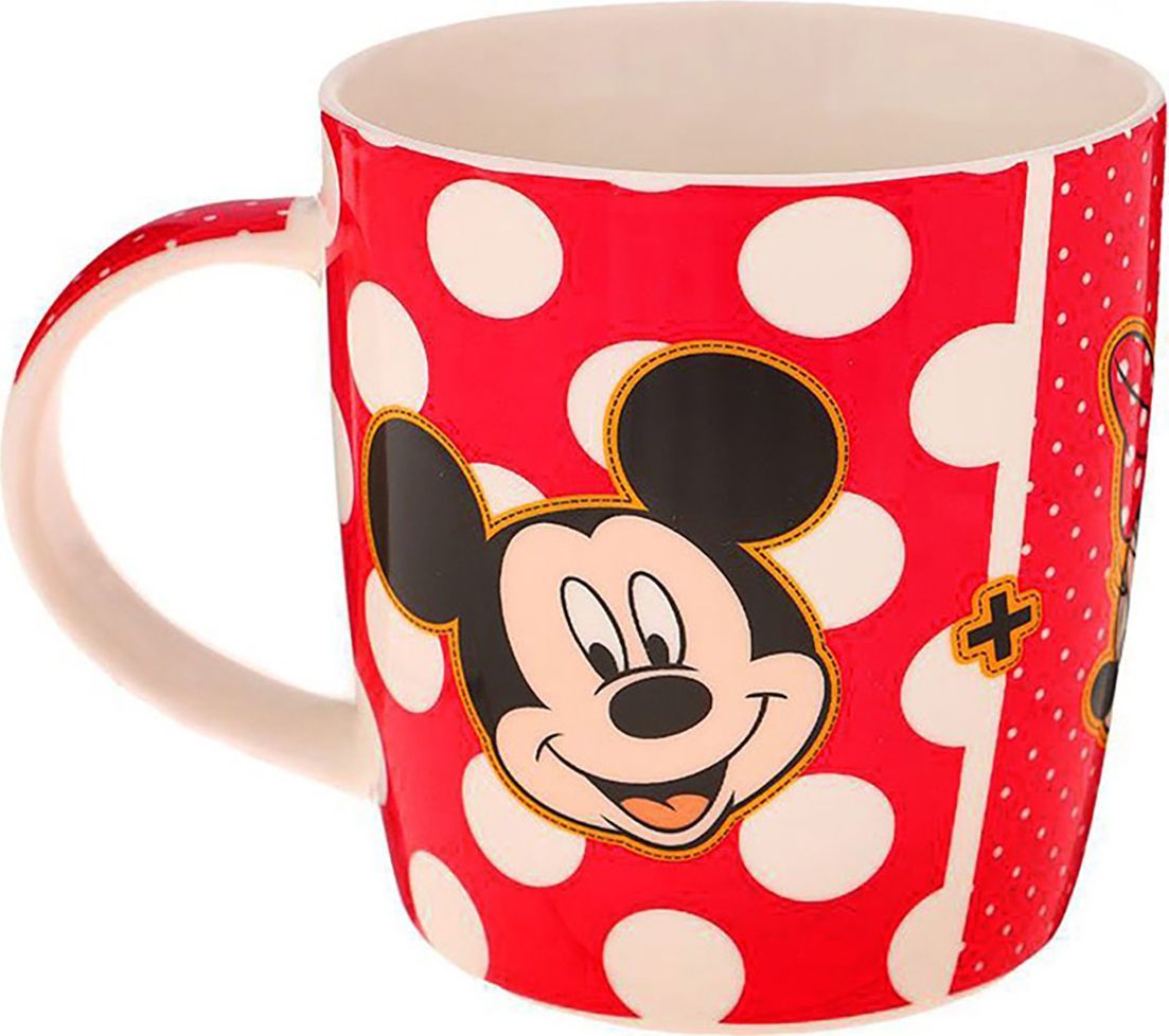 Кружка детская Disney Микки Маус и его друзья. Любовь, 350 мл. 1200904 сувенир мкт оберег для кошелька волшебная лампа алладина