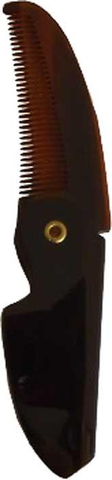 Morgans Складная расческа для усов, маленькая. M062M062Складная расческа с защитным кожухом изготовлена ??в Италии из растительной целлюлозы.