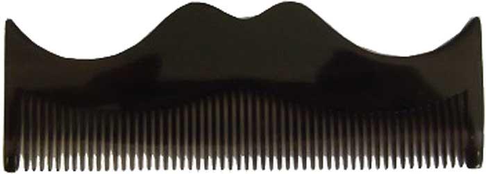 Morgans Серый гребень в форме усов. M081M081Небольшой гребень в форме усов изготовлен ??в Италии из растительной целлюлозы.