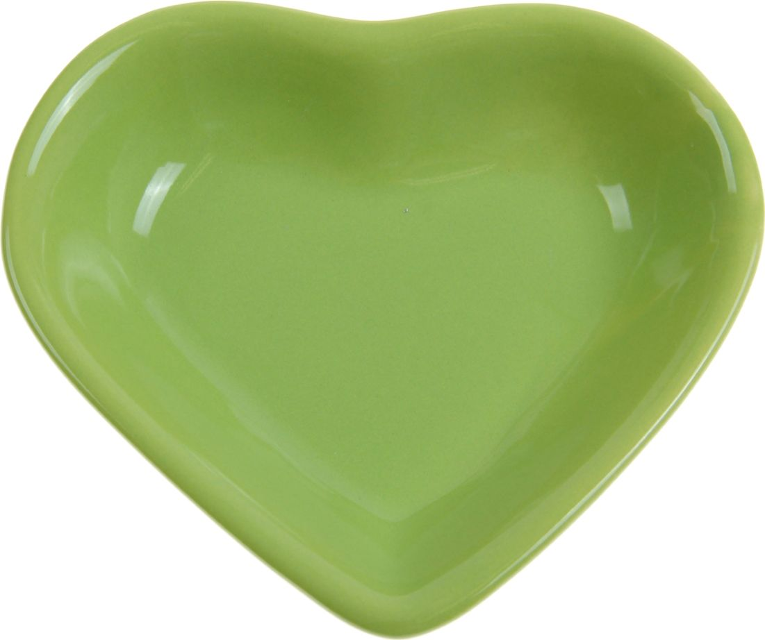 Миска для снэков Keramika Сердечко, 200 мл, цвет: зеленый. 868234868234От качества посуды зависит не только вкус еды, но и здоровье человека. Миска для снэков 200 мл Сердечко, d=14 см, цвет зелёный — товар, соответствующий российским стандартам качества. Любой хозяйке будет приятно держать его в руках. С нашей посудой и кухонной утварью приготовление еды и сервировка стола превратятся в настоящий праздник.