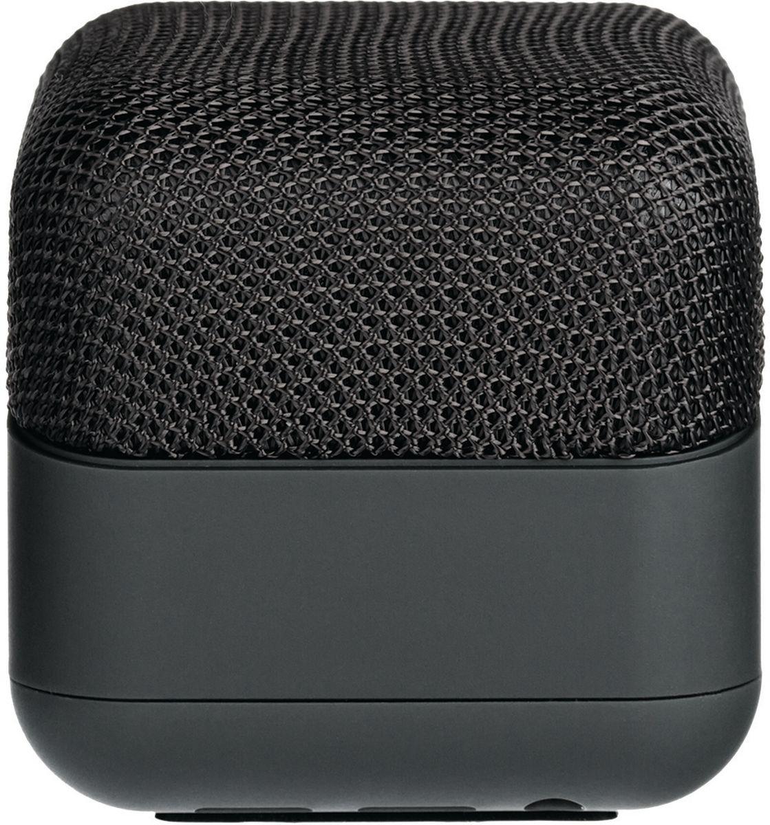 Rombica MySound BT-13, Black портативная акустическая системаSBT-00130Аудиопроигрыватель Rombica MySound BT-13 совместим со всеми популярными устройствами с поддержкойBluetooth, а также воспроизводит музыку через аудиовход. Встроенный сабвуфер дает глубокий и насыщенныйбас. Аккумулятор 400 мАч обеспечивает долгую работу.