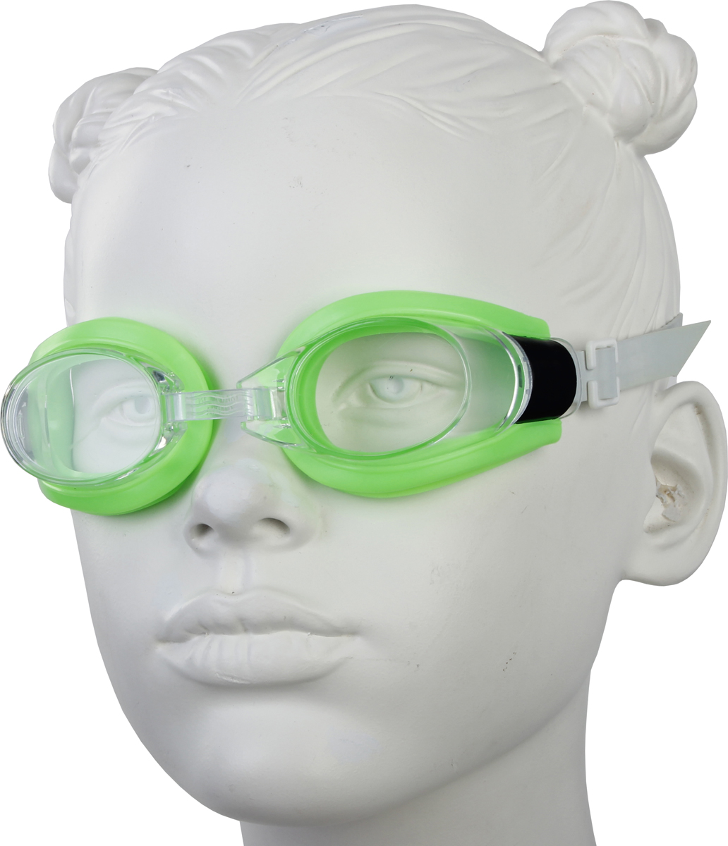 Очки для плавания Start Up, цвет: зеленый. G1170B281664Очки плавательные представляет собой необходимый аксессуар, предназначенный для защиты глаз во время плавания в открытом водоеме или в бассейне. Линзы очков произведены из высокопрочного поликарбоната, оправа из силикона, который плотно прилегает к голове и не соскальзывает даже во время активных тренировок. Такие надежные материалы устойчивы к возможным повреждениям и рассчитаны на долгий срок службы. Переносица: регулируемая.