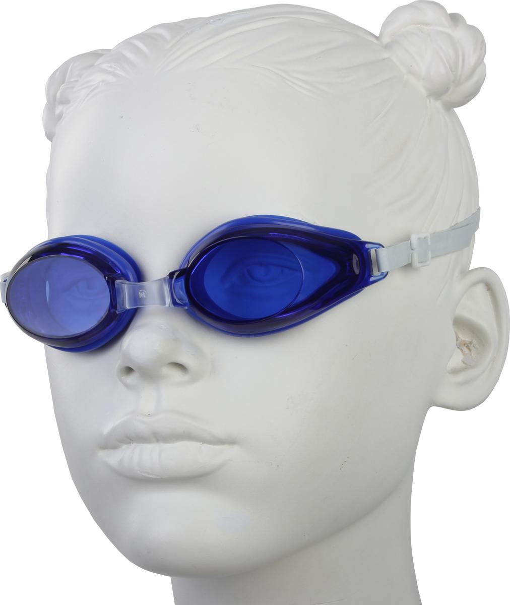 Очки для плавания Start Up, цвет: синий. G1001B281662Очки плавательные представляет собой необходимый аксессуар, предназначенный для защиты глаз во время плавания в открытом водоеме или в бассейне. Линзы очков произведены из высокопрочного поликарбоната, оправа из силикона, который плотно прилегает к голове и не соскальзывает даже во время активных тренировок. Такие надежные материалы устойчивы к возможным повреждениям и рассчитаны на долгий срок службы. Переносица: нерегулируемая.
