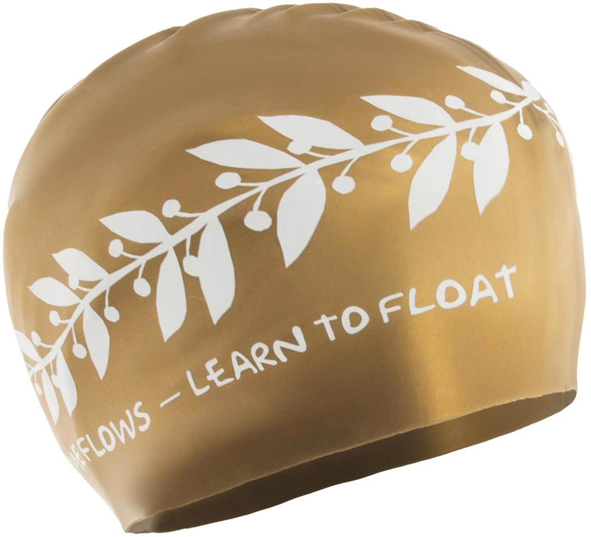 Шапочка для плавания Larsen, цвет: золотистый. LS71281672Классическая шапочка для плавания Larsen выполнена из высококачественного силикона. Она плотно облегает голову, обеспечивая комфортную и надежную посадку. Размер: 22 х 19 см.