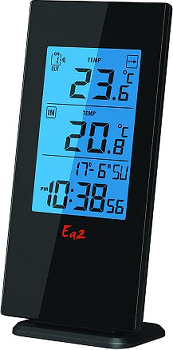 Термометр Ea2 BL501 предназначен для измерения внутренней и наружной температуры. Внутренняя с помощью встроенного в устройство датчика, а внешняя с помощью дистанционного датчика, входящего в комплект устройства. Также устройство оснащено часами.