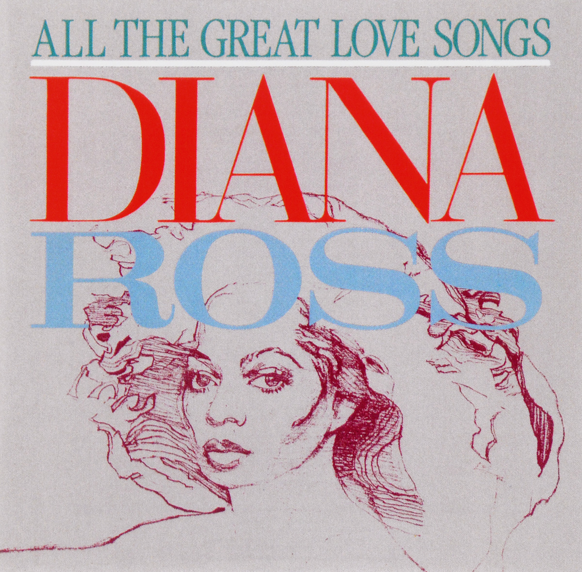 Diana Ross. All The Great Love Songs cd bee gees love songs