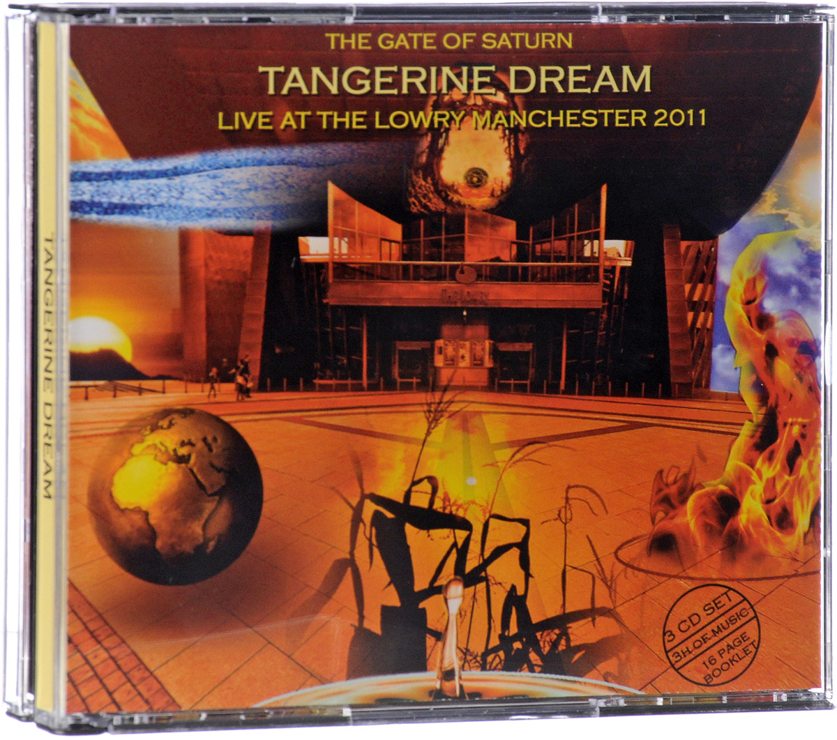 Tangerine Dream. The Gate Of Saturn (Live At The Lowry Manchester 2011) (3 CD)