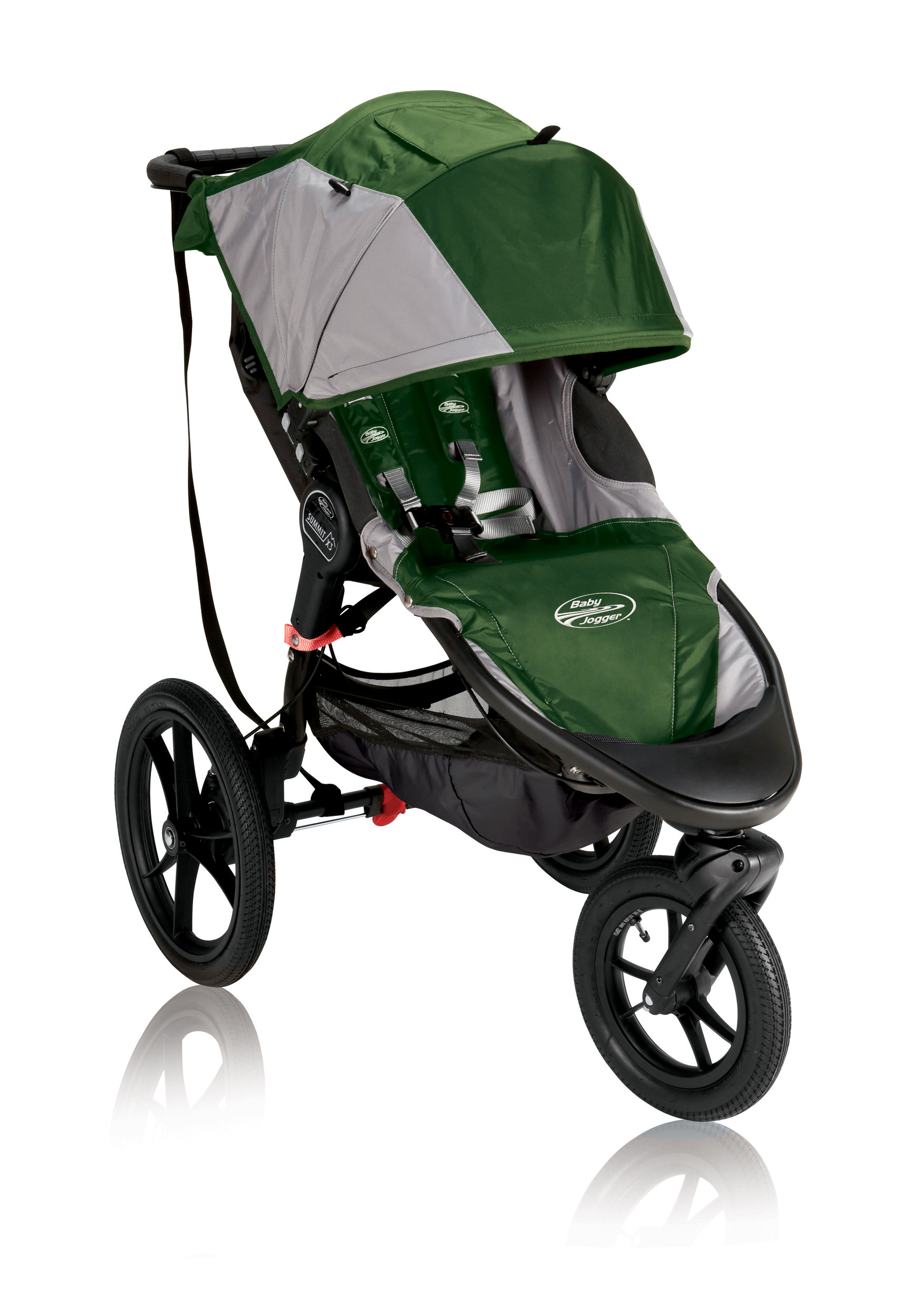 Baby Jogger Коляска беговая Summit X3 цвет зеленый серый - Коляски и аксессуары