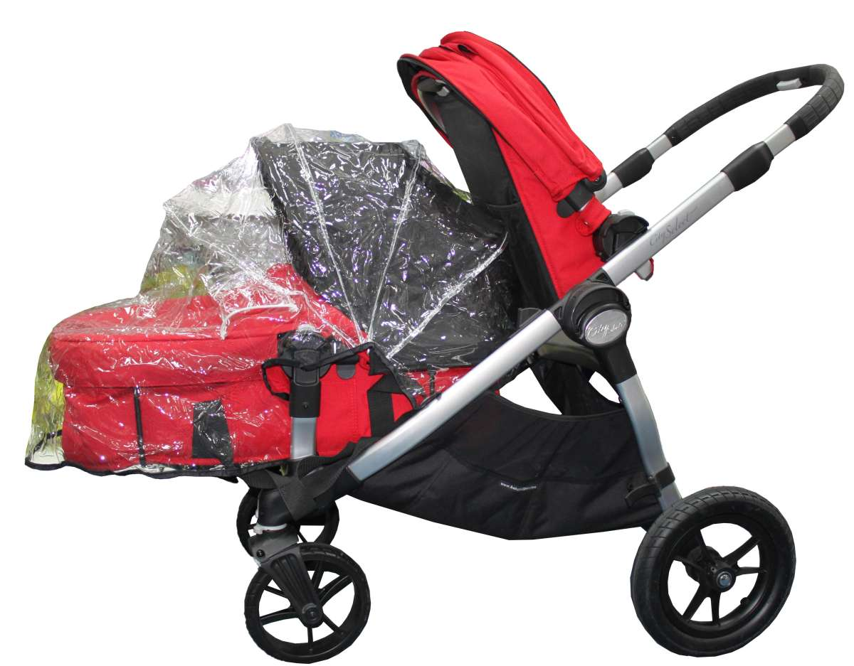 Baby Jogger Дождевик для люльки коляски City Select дождевик baby jogger city select single seat rain canopy