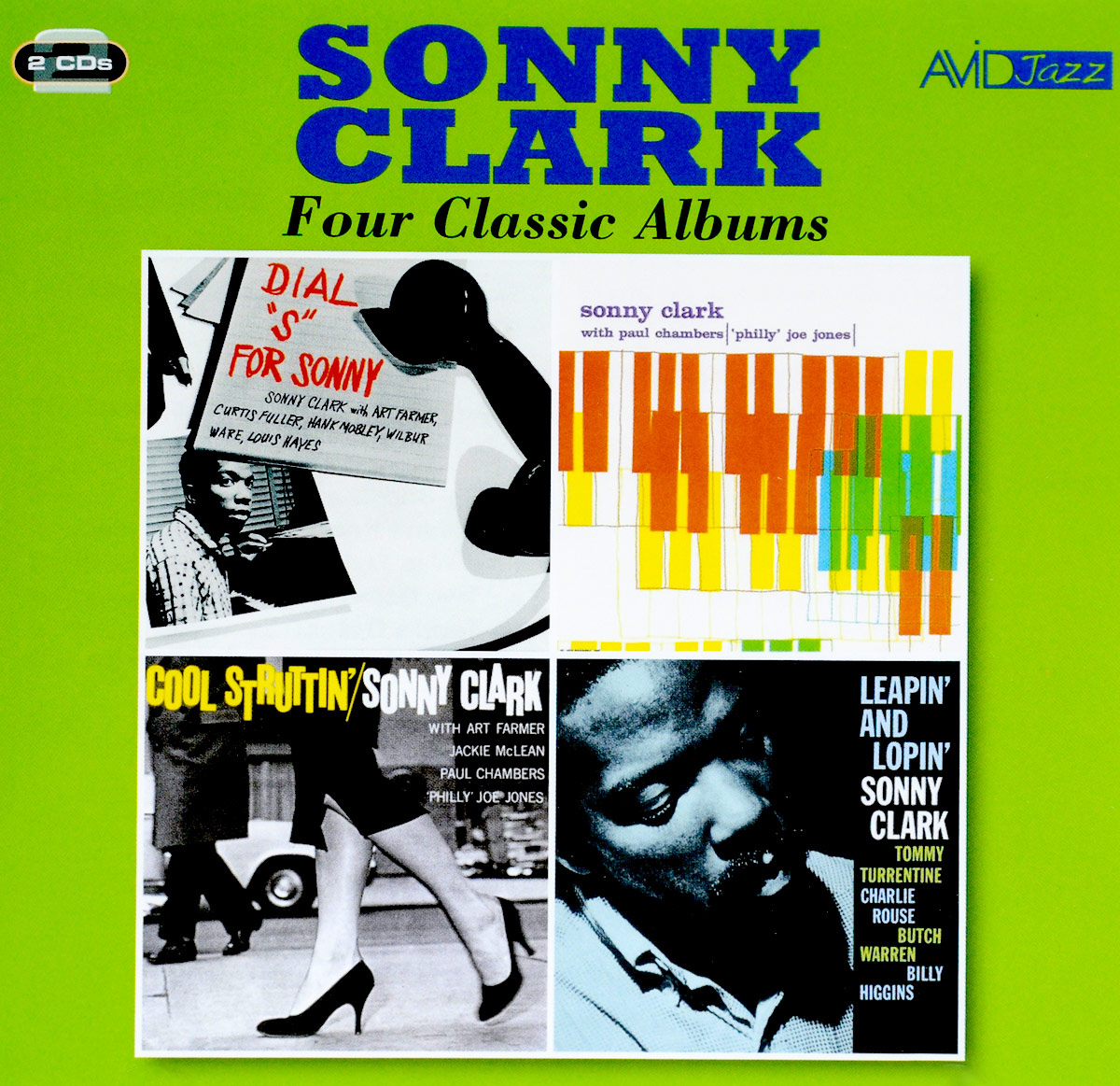 Сонни Кларк Sonny Clark. Four Classic Albums (2 CD) sonny rollins sonny rollins a night at the village vanguard 180 gr